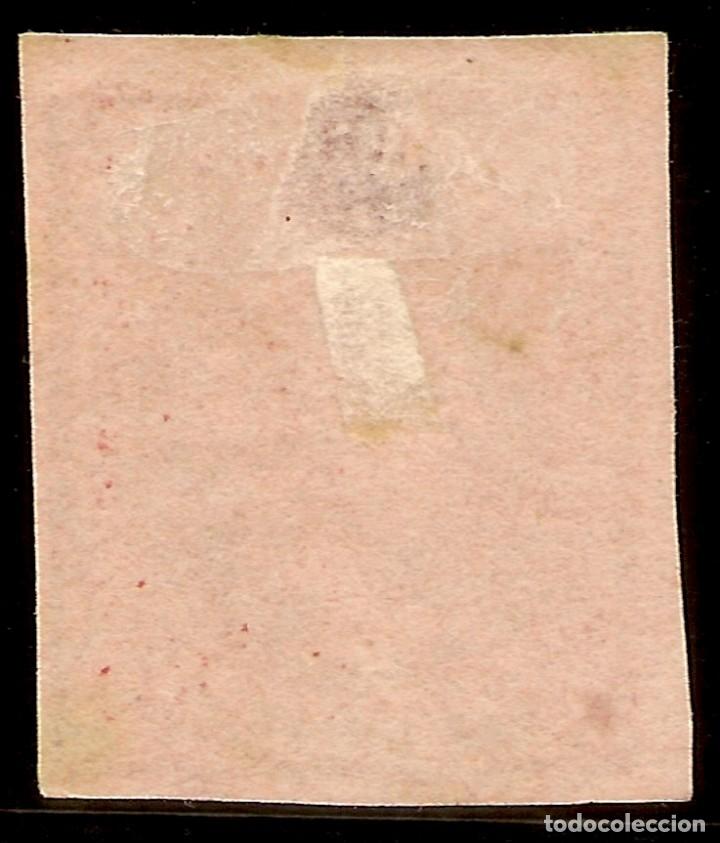 Sellos: España Edifil 64 (º) 4 Cuartos Rojo Isabel II 1864 NL1111 - Foto 2 - 179398431