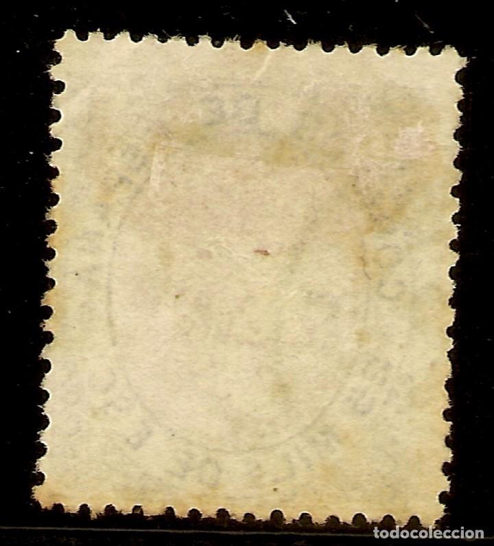 Sellos: España Edifil 95 (º) 25 Milésimas Azul y Rosa Isabel II 1867 NL1247 - Foto 2 - 180256713