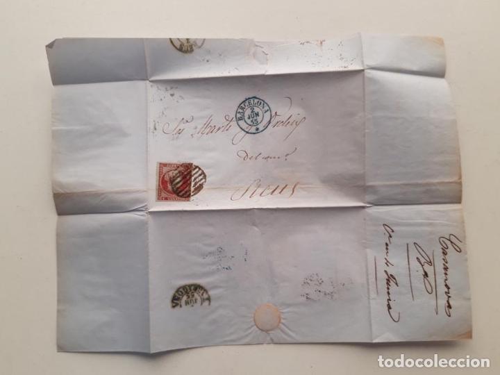 1855 EDIDIL 40 BARCELONA REUS (Sellos - España - Isabel II de 1.850 a 1.869 - Nuevos)