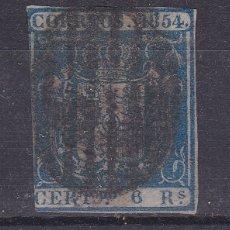 Selos: MM51- CLÁSICOS EDIFIL 27 USADO . SIN DEFECTOS OCULTOS. Lote 182234835