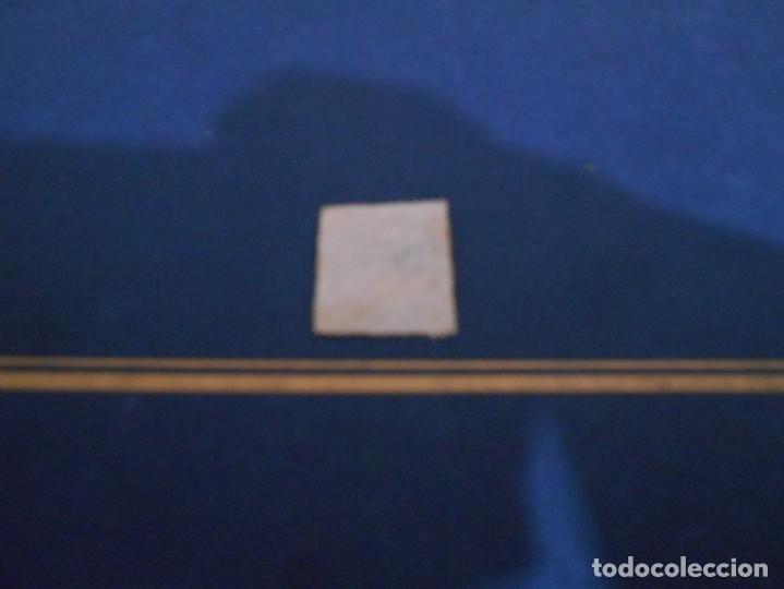 Sellos: CORREOS DE ESPAÑA CUATRO CUARTOS -COLOR AZUL -ESTA USADO - Foto 2 - 182663517
