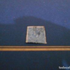 Sellos: IMPUESTO DE GUERRA -10 CENT .PESETA -COLOR AZUL USADO. Lote 182674883