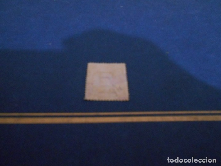 Sellos: TELECOMUNICACIONES 25 Cs PESETA 25 --COLOR MARRON-USADO - Foto 2 - 182690297