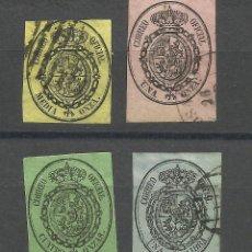 Sellos: SERIE DEL ESCUDO DE ESPAÑA DE 1.885 USADA. Lote 182699468