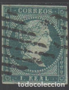 ESPAÑA, 1855 EDIFIL Nº 41 (Sellos - España - Isabel II de 1.850 a 1.869 - Usados)