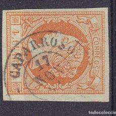 Sellos: TT13- CLÁSICOS EDIFIL 52 MATASELLOS CAPARROSO NAVARRA. Lote 186115762