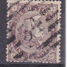 Sellos: TT14- CLÁSICOS EDIFIL 98 . PARRILLA CON CIFRA 34 . LUGO . Lote 186116375