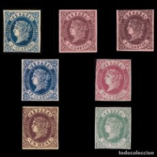 Sellos: 1862.ISABEL II.SERIE NUEVO*.EDIFIL.57-62. Lote 188709717