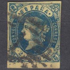Sellos: 1862 EDIFIL 57 USADO. ISABEL II (1219). Lote 190035197