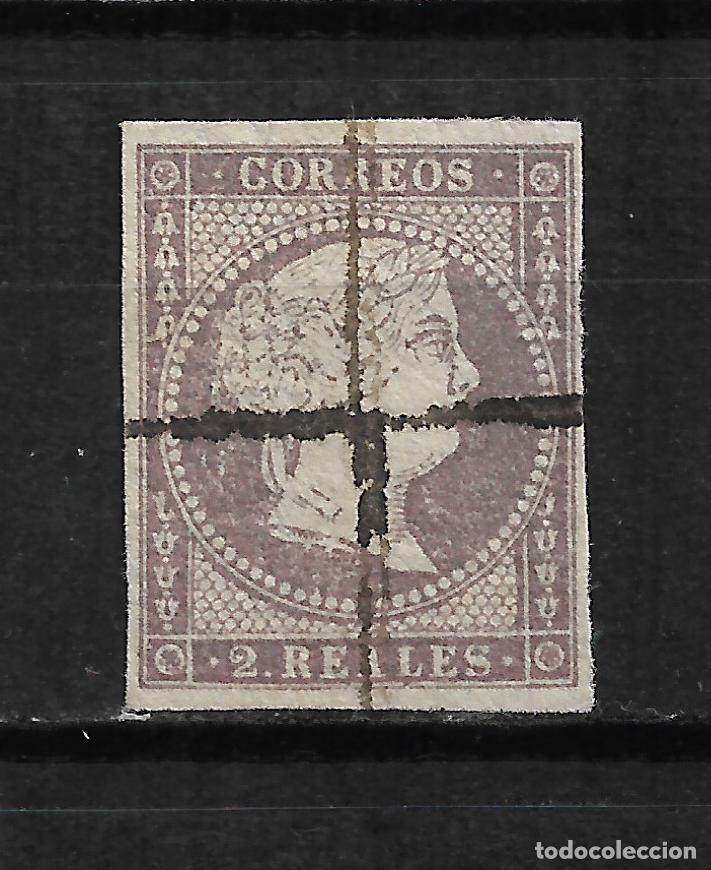 ESPAÑA 1856 EDIFIL 46 - 6/1 (Sellos - España - Isabel II de 1.850 a 1.869 - Usados)