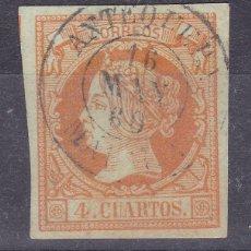 Sellos: TT2- CLÁSICOS EDIFIL 52 USADO ANTEQUERA MÁLAGA . Lote 190783238