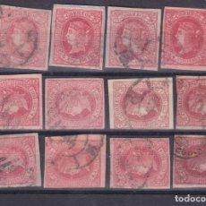 Sellos: DD13- CLÁSICOS EDIFIL 64 X 12 SELLOS VARIEDADES COLOR / IMPRESION. Lote 190788032
