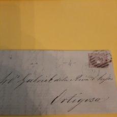 Sellos: PREFILATELIA MATASELLO SOBRE SELLO ISABEL II. Lote 190814181