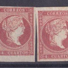 Sellos: AA8- CLÁSICOS EDIFIL 44 /44A . NUEVOS . VARIEDAD LUJO. Lote 191129172