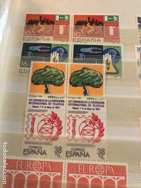 Sellos: Colección Sellos Españoles Nuevos. Con álbum. Ver imágenes - Foto 2 - 191241747