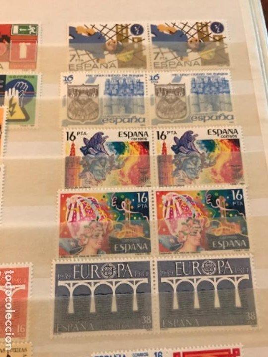 Sellos: Colección Sellos Españoles Nuevos. Con álbum. Ver imágenes - Foto 3 - 191241747