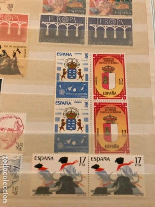 Sellos: Colección Sellos Españoles Nuevos. Con álbum. Ver imágenes - Foto 4 - 191241747