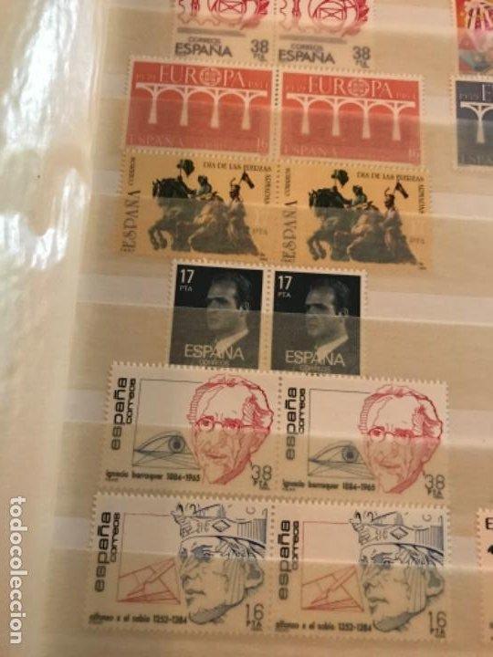 Sellos: Colección Sellos Españoles Nuevos. Con álbum. Ver imágenes - Foto 5 - 191241747