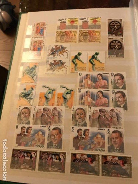Sellos: Colección Sellos Españoles Nuevos. Con álbum. Ver imágenes - Foto 6 - 191241747