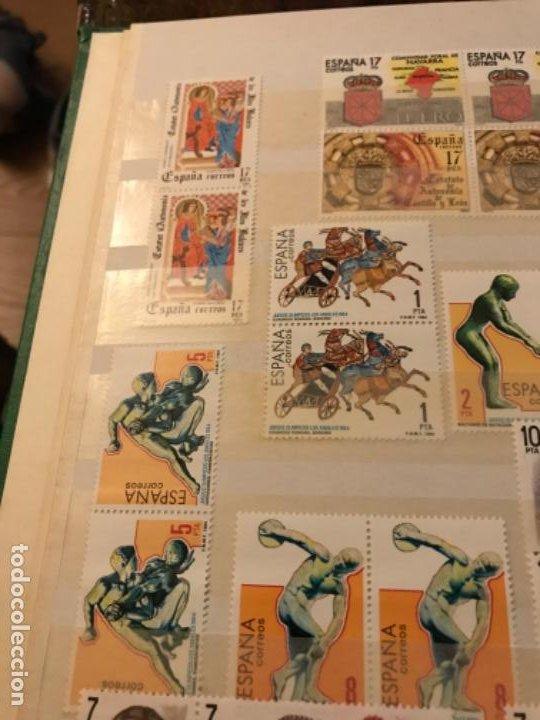 Sellos: Colección Sellos Españoles Nuevos. Con álbum. Ver imágenes - Foto 7 - 191241747