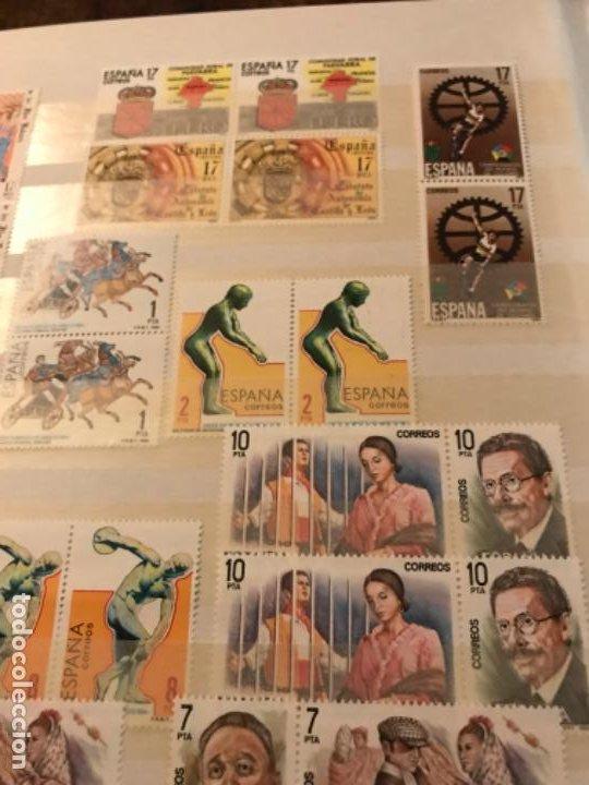 Sellos: Colección Sellos Españoles Nuevos. Con álbum. Ver imágenes - Foto 8 - 191241747