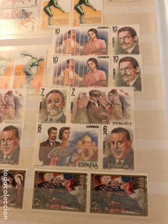Sellos: Colección Sellos Españoles Nuevos. Con álbum. Ver imágenes - Foto 9 - 191241747