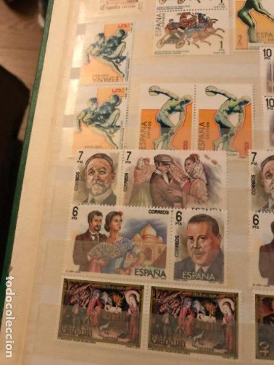 Sellos: Colección Sellos Españoles Nuevos. Con álbum. Ver imágenes - Foto 10 - 191241747