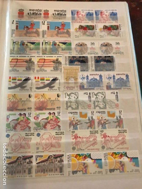 Sellos: Colección Sellos Españoles Nuevos. Con álbum. Ver imágenes - Foto 11 - 191241747