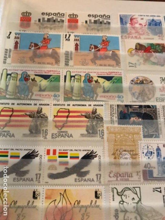 Sellos: Colección Sellos Españoles Nuevos. Con álbum. Ver imágenes - Foto 12 - 191241747