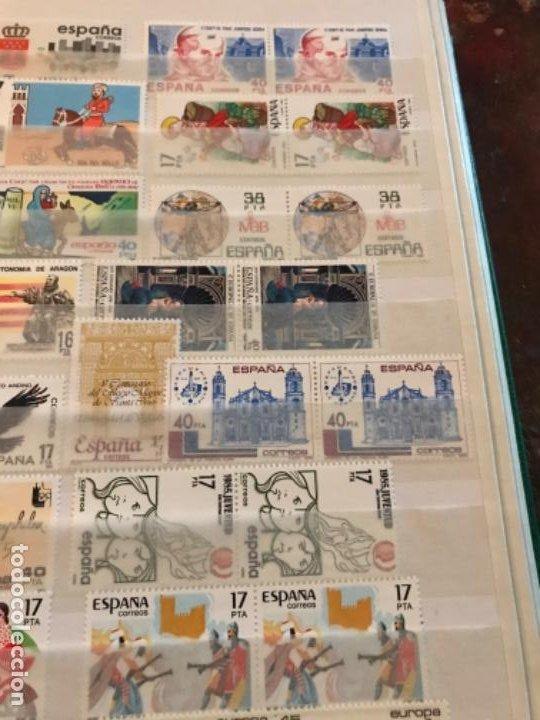 Sellos: Colección Sellos Españoles Nuevos. Con álbum. Ver imágenes - Foto 14 - 191241747
