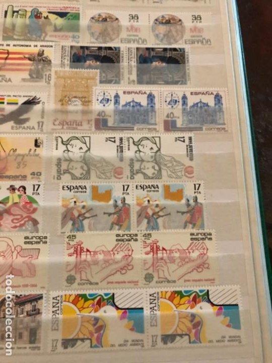 Sellos: Colección Sellos Españoles Nuevos. Con álbum. Ver imágenes - Foto 15 - 191241747