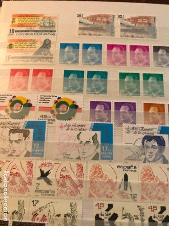 Sellos: Colección Sellos Españoles Nuevos. Con álbum. Ver imágenes - Foto 17 - 191241747