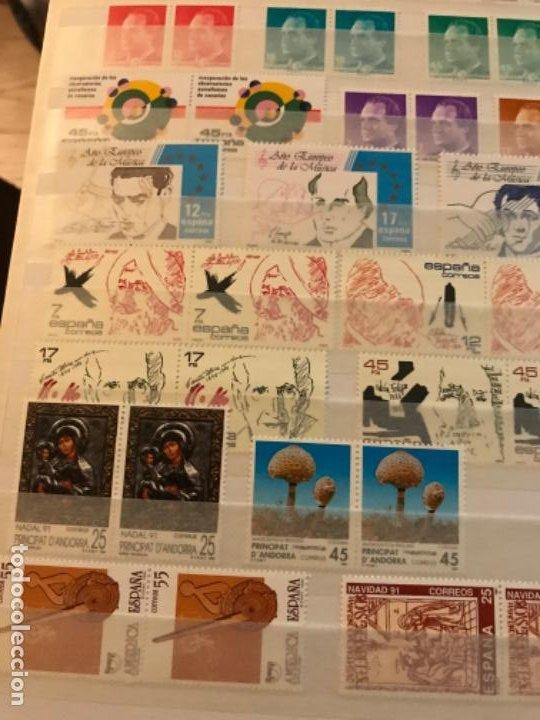 Sellos: Colección Sellos Españoles Nuevos. Con álbum. Ver imágenes - Foto 18 - 191241747