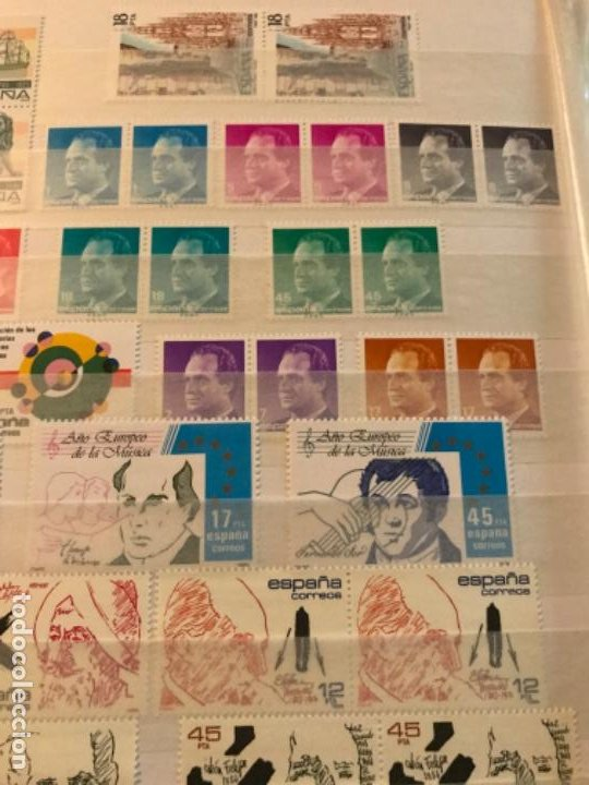 Sellos: Colección Sellos Españoles Nuevos. Con álbum. Ver imágenes - Foto 19 - 191241747
