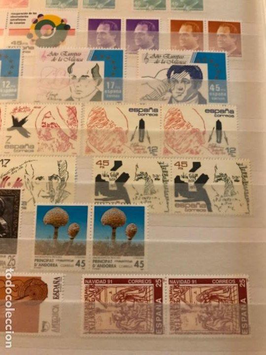 Sellos: Colección Sellos Españoles Nuevos. Con álbum. Ver imágenes - Foto 20 - 191241747