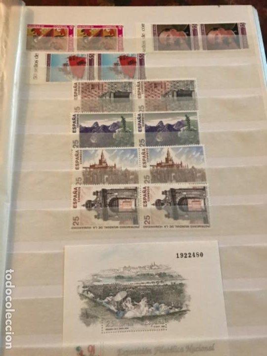 Sellos: Colección Sellos Españoles Nuevos. Con álbum. Ver imágenes - Foto 21 - 191241747
