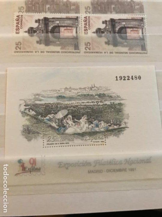 Sellos: Colección Sellos Españoles Nuevos. Con álbum. Ver imágenes - Foto 24 - 191241747