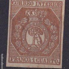 Sellos: TT23- CLÁSICOS CORREO INTERIOR MADRID . EDIFIL 22. NUEVO (*) SIN GOMA. FALSO FILATELICO. Lote 191248832