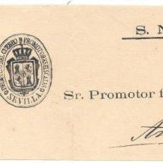Sellos: ANDALUCIA. EDIFIL 35-36. FRONTAL CIRCULADO DE SEVILLA A ANTEQUERA 1865. Lote 191345535