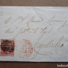 Sellos: ENVUELTA CIRCULADA 1953 DE BARCELONA A CAPELLADES. Lote 191716721