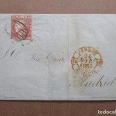 Sellos: CIRCULADA 1852 DE PADRON CORUÑA GALICIA A MADRID. Lote 191717022