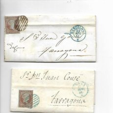 Sellos: 3 - SOBRES - CARTA COMERCIAL DESDE BLANES - MATASELLOS BARCELONA - VER FOTOS. Lote 193001367