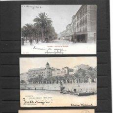 Sellos: ALICANTE Y PROVINCIA 4 INTERESANTES PIEZAS DE HISTORIA POSTAL ANTIGUA, EN MUY BUENA CONSERVACION . Lote 194095363
