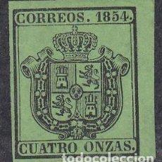 Sellos: ESPAÑA.- ISABEL II Nº 31 ESCUDO DE ESPAÑA NUEVO SIN GOMA . Lote 194099157
