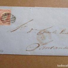 Sellos: CIRCULADA 1858 DE REINOSA A SANTANDER . Lote 194650460