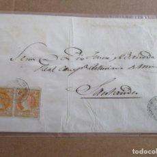 Sellos: CIRCULADA 1860 DE TORRELAVEGA A SANTANDER. Lote 194702302