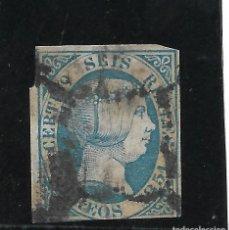 Sellos: ESPAÑA. SELLO DEL VALOR 6 REALES DEL AÑO 1851. Lote 194713292