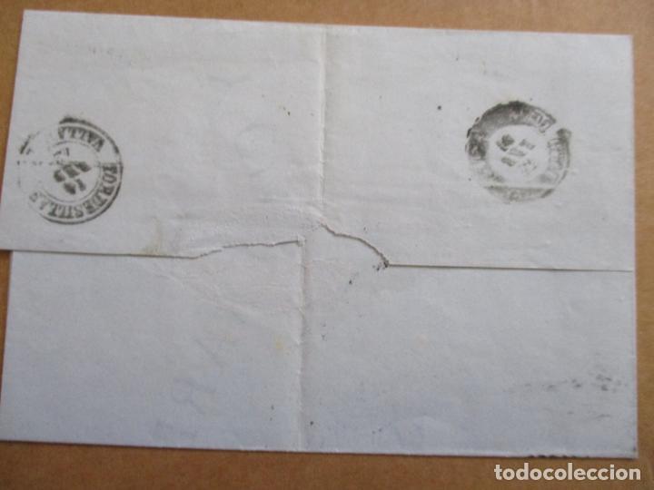 Sellos: CIRCULADA 1872 de santander a tordesillas valladolid - Foto 2 - 194782148