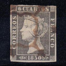 Sellos: 1850 EDIFIL 1A USADO. ISABEL II (220). Lote 195034418
