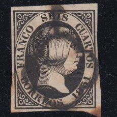 Sellos: 1851 EDIFIL 6 USADO. ISABEL II (220). Lote 195034767